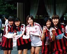 2002年ワールドカップ応援隊キャンペーンガール勢揃い