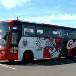 コンサドーレのペインティング車両2(JR北海道バス・コンサドーレ号編)