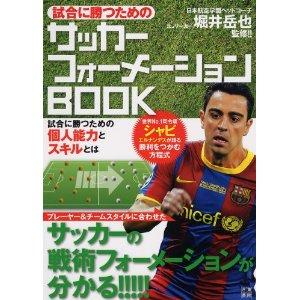【書籍紹介】試合に勝つためのサッカーフォーメーションBOOK
