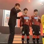 【動画】J1復帰誓う コンサドーレ札幌が新チーム披露(2013/01/27)北海道新聞