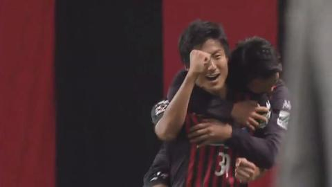 「J2最優秀ゴール賞」J2リーグ戦第38節のノミネートゴールに都倉賢選手のゴールがノミネート
