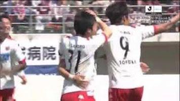 2015「J2最優秀ゴール賞」J2リーグ戦第9節のノミネートゴールに宮澤裕樹選手のゴールがノミネート