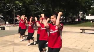 【動画】オドッチャオ!ダンス踊ってみた「コンサドーレ札幌 コンサドールズ篇」