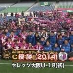 【動画】高円宮杯U-18チャンピオンシップ2010-14プレイバック