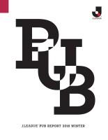 【報告書】J.LEAGUE PUB Report 2016 Winter