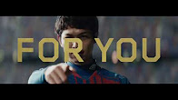 DAZNのJリーグ中継のTV CM「For You」