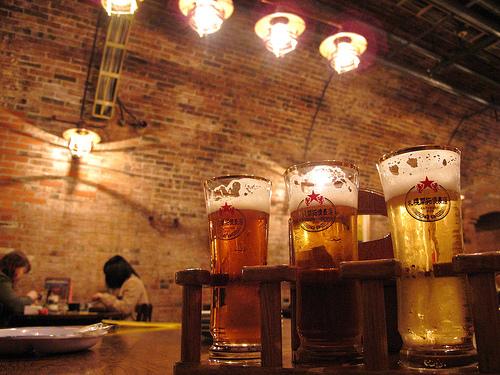 Beer hall.